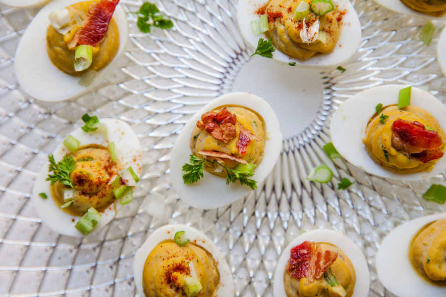 Deviled Eggs / Carrie Crow / Katie Workman / themom100.com