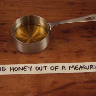 Getting Honey Out of a Measuring Cup