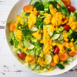 Japanese Restaurant Salad Dressing / Mandy Maxwell / Katie Workman / themom100.com