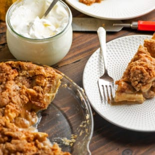 The Best Streusel Apple Pie Ever