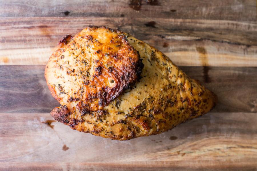 Simple Lemon-Garlic Roasted Turkey Breast / Sarah Crowder / Katie Workman / themom100.com
