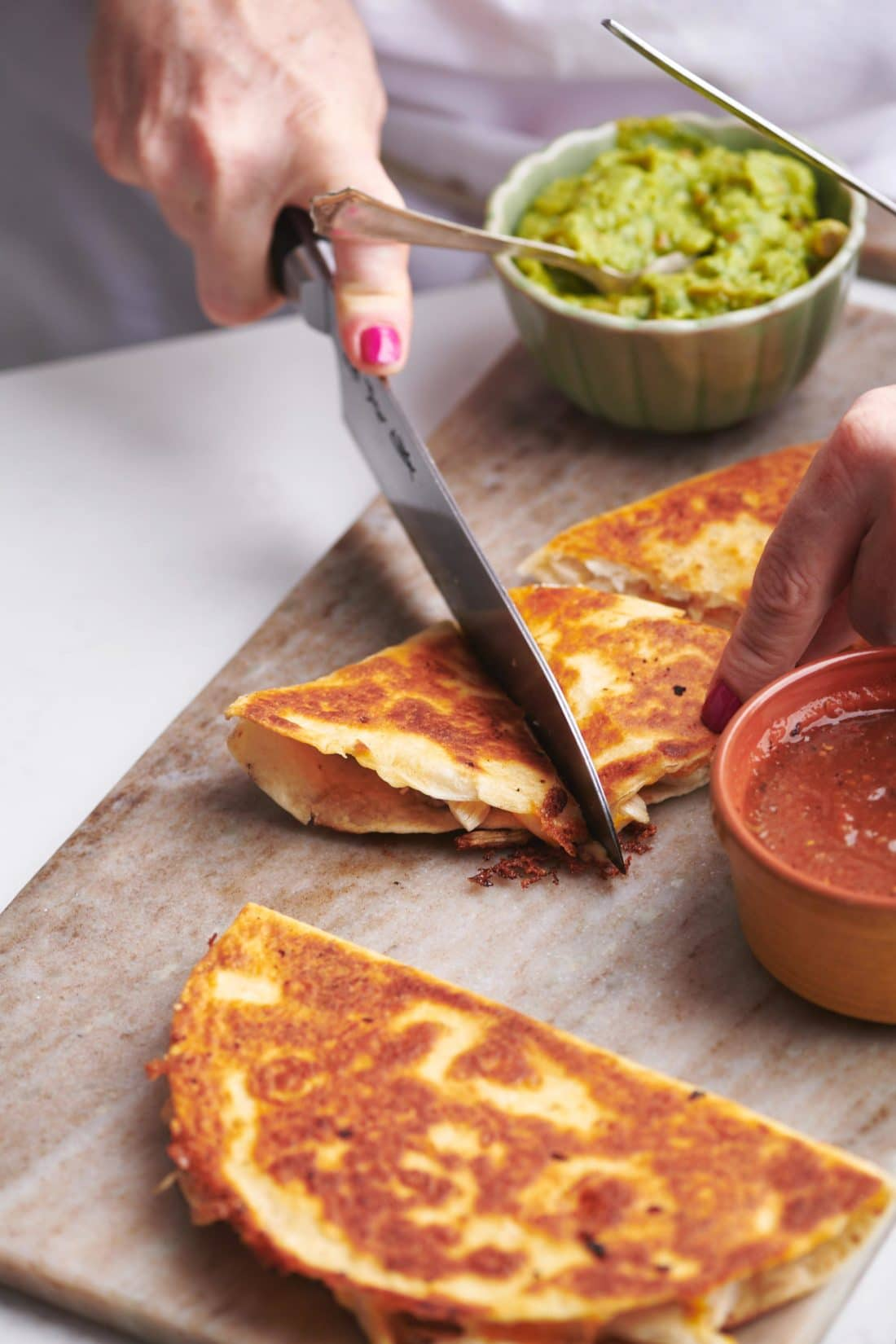Rotisserie Chicken Quesadillas