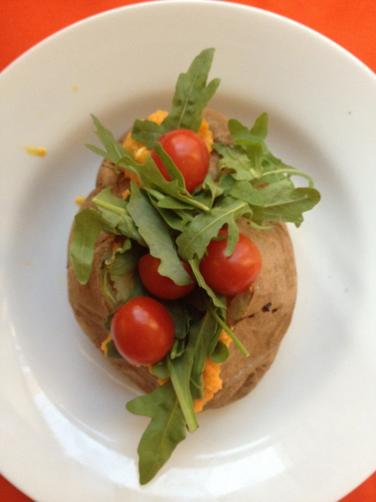 Japanese Restaurant Salad Potato