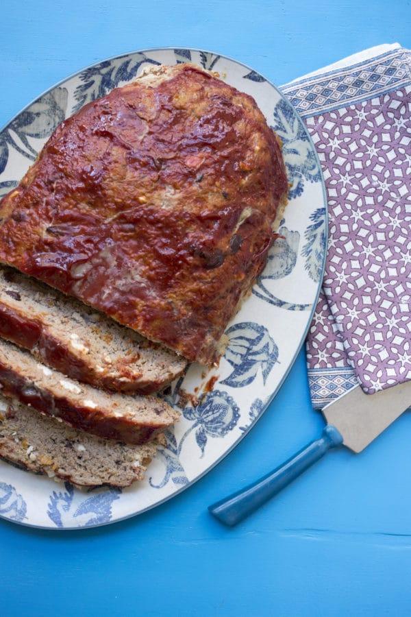 Mediterranean Turkey Meatloaf / Luci Beni / Katie Workman / themom100.com