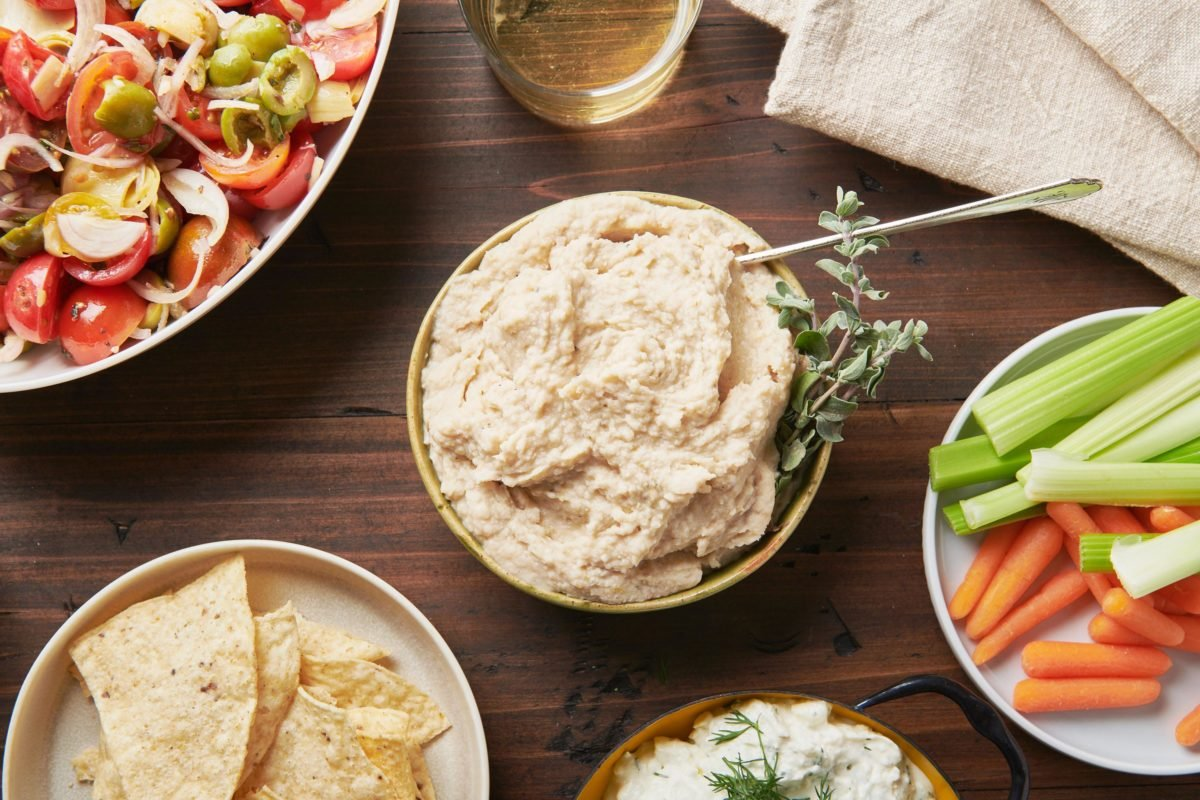 Cannellini Bean Dip with Lemon and Parmesan