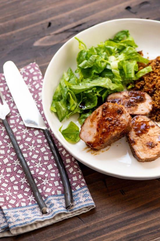 Dijon and Honey Crusted Pork Tenderloins