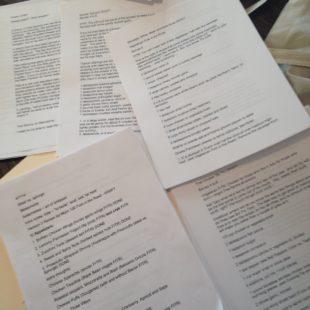 Mom 100 Manuscript Pages