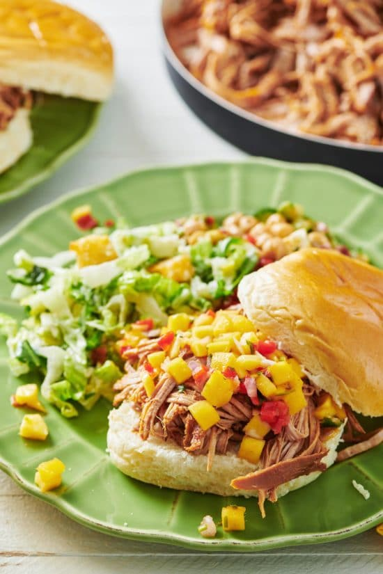 Slow Cooker Barbecue Pulled Pork