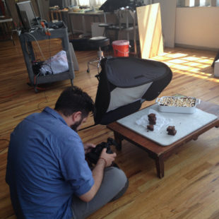 Cookbook Photo Shoot