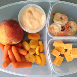 Orange School Lunch