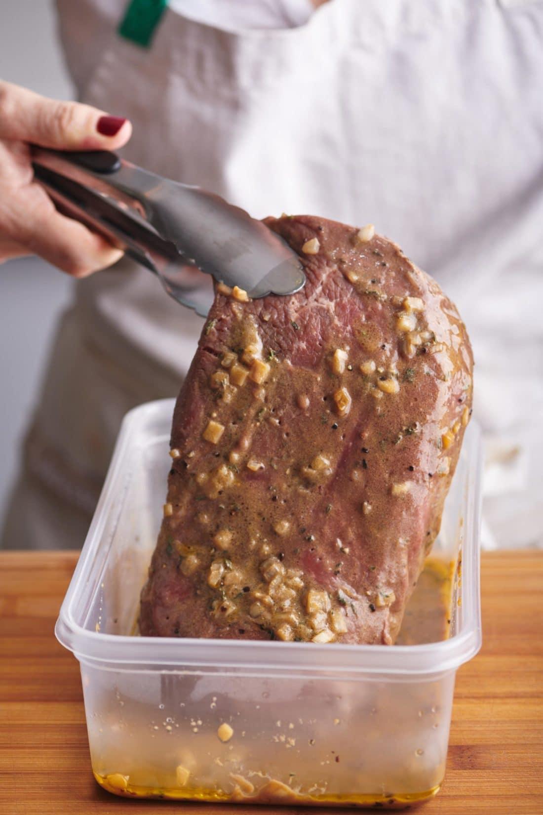 Mustard Marinated London Broil
