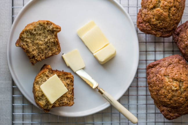 Mini Banana Loaves / Sarah Crowder / Katie Workman / themom100.com