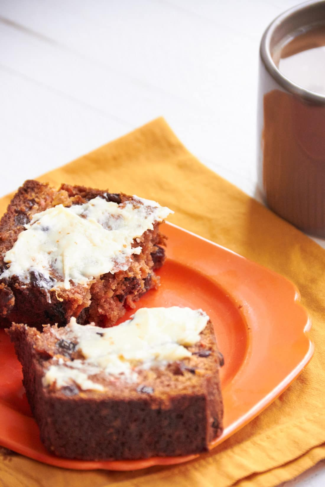 Carrot Raisin Bread / Mia / Katie Workman / themom100.com