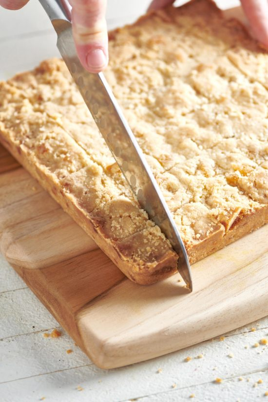 Crystallized Ginger Shortbread