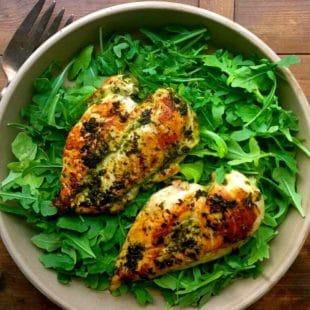 Herby Scallion Chicken from Katie Workman/ themom100.com