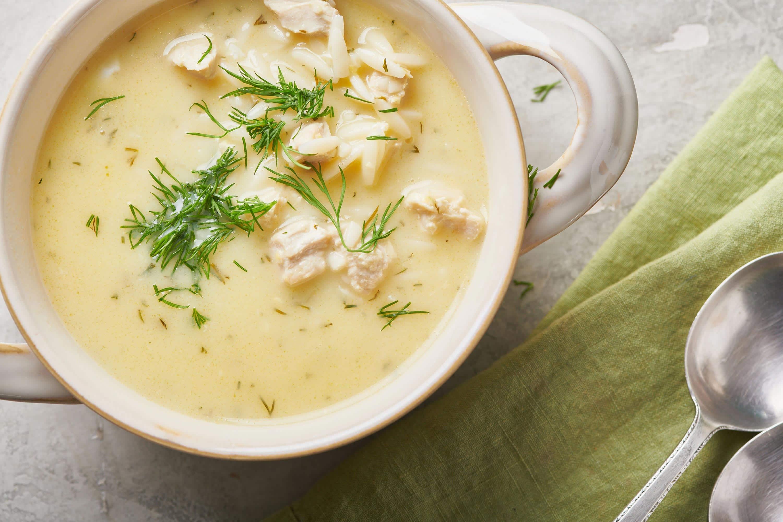 Avgolemono Soup Recipe Greek Lemon Chicken Soup The Mom 100