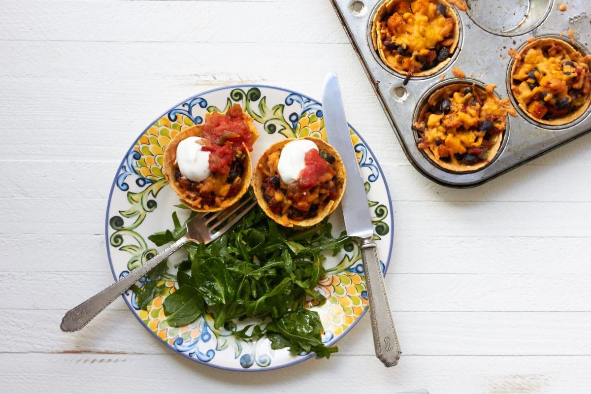 Butternut Squash Chicken Enchiladas / Mia / Katie Workman / themom100.com
