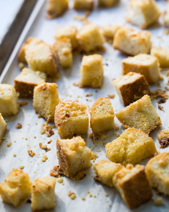 Parmesan Croutons