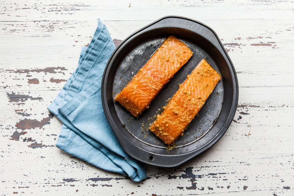 Thai Salmon / Carrie Crow / Katie Workman / themom100.com