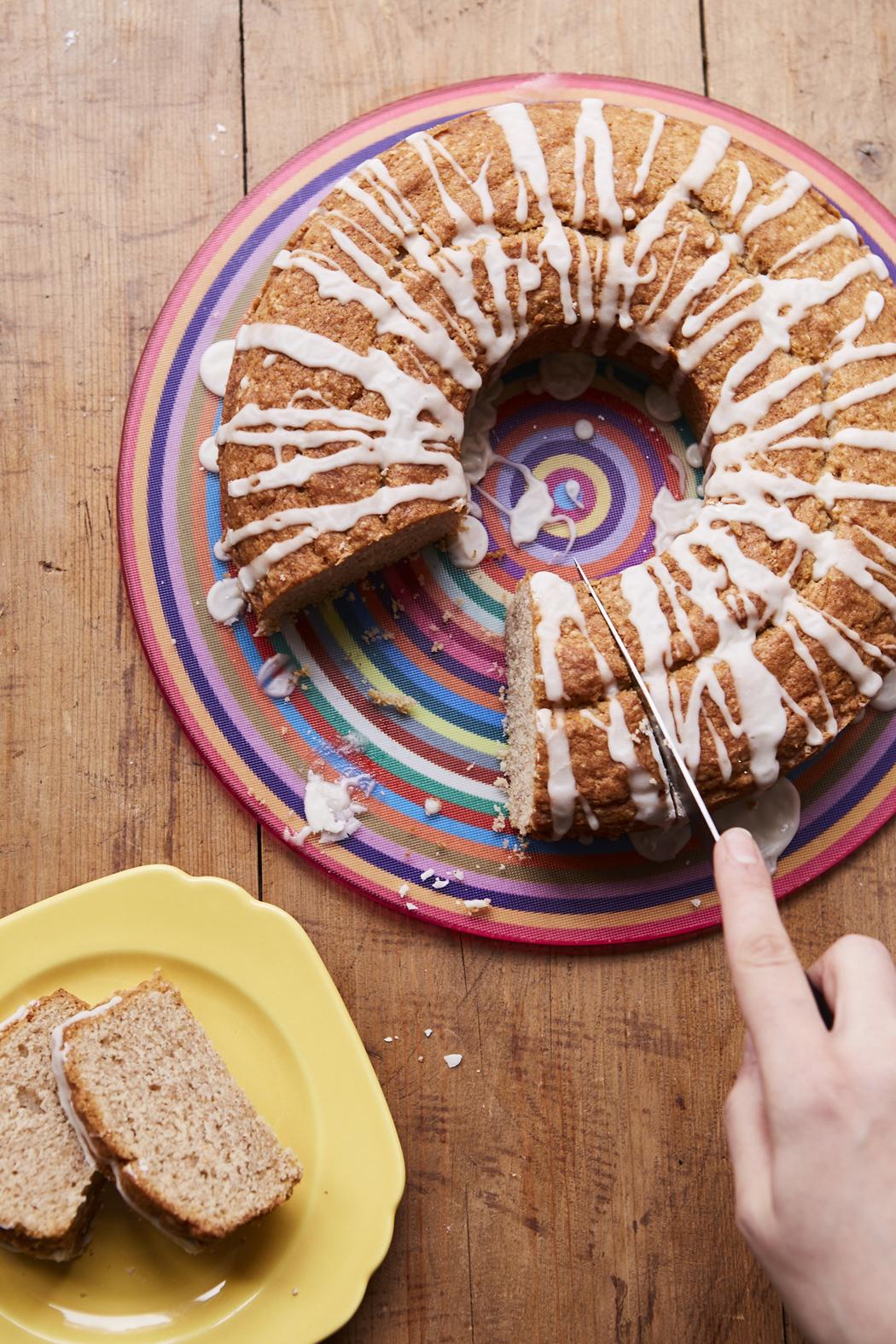 Sour Cream Cinnamon Coffee Cake