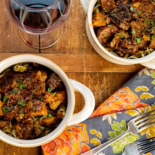 Slow Cooker Barbecue Beer Beef Stew / Photo by Cheyenne Cohen / Katie Workman / themom100.com
