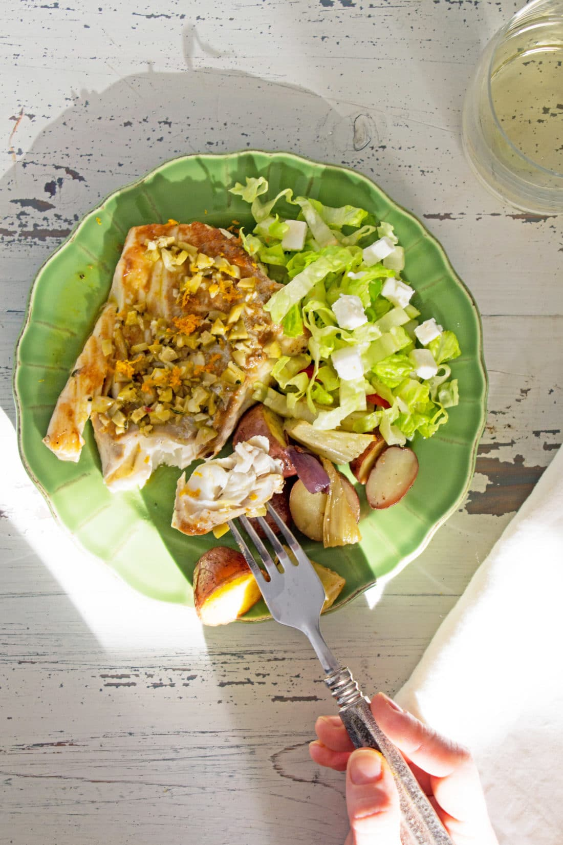 Rosemary Orange Cod Fillets / Photo by Mandy Maxwell / Katie Workman / themom100.com