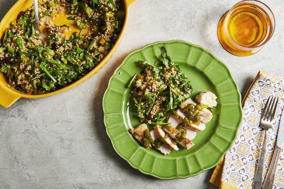 Millet and Greens Salad