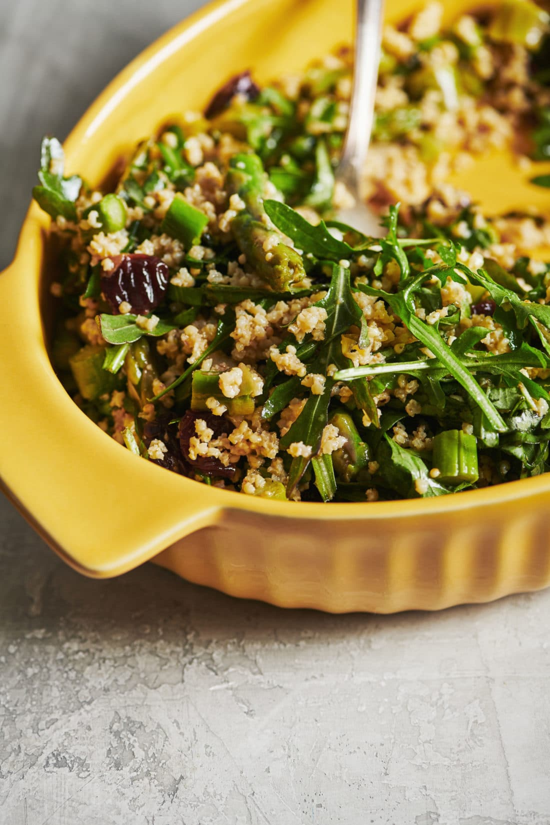 Millet and Greens Salad
