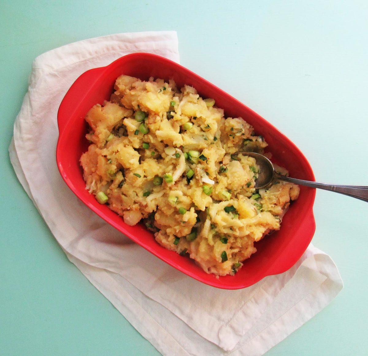 Classic Potato Salad with Celery and Fresh Thyme / Laura Agra / Katie Workman themom100.com