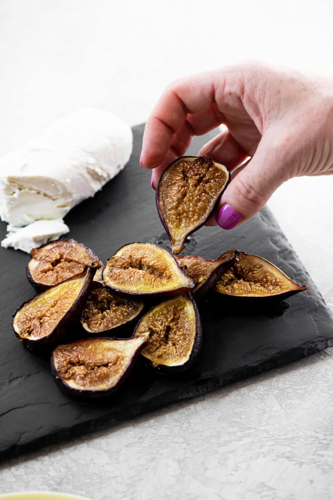 Baked Figs with Honey / Katie Workman / themom100.com / Photo by Cheyenne Cohen