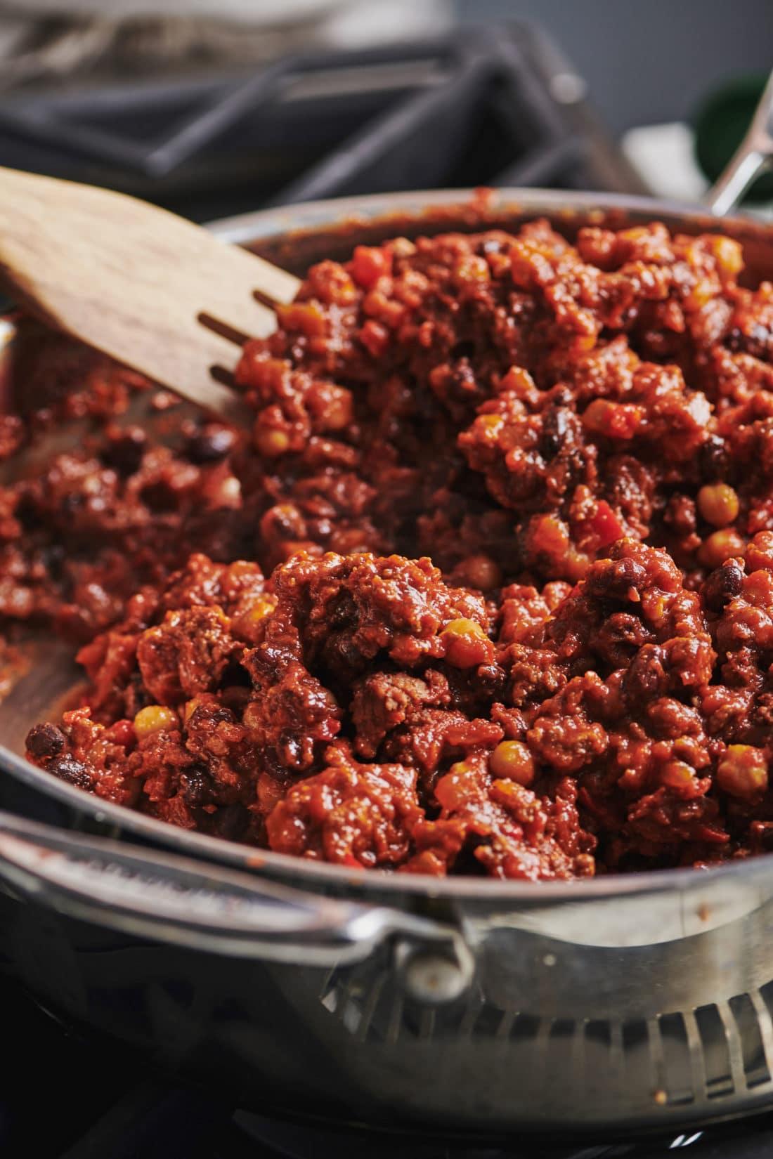 Game Day Ground Beef Chili
