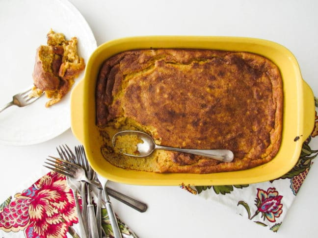 Sweet Potato Spoonbread / Lucy Beni / Katie Workman / themom100.com