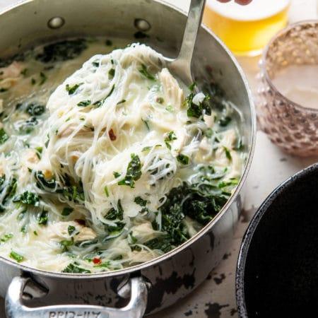 Thai Chicken Noodle Soup