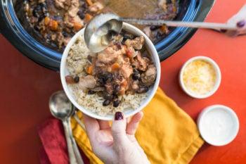 Slow Cooker Chicken Chili / Sarah Crowder / Katie Workman / themom100.com