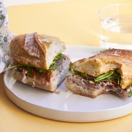 Prosciutto and Pork Banh Mi / Katie Workman / themom100.com
