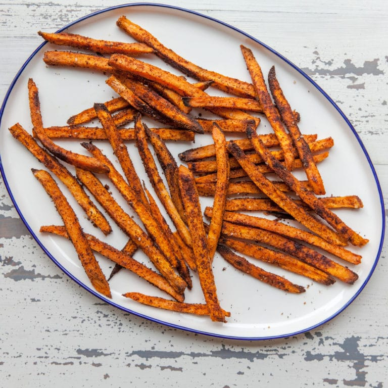 Crispy Baked Sweet Potato Fries / Carrie Crow / Katie Workman / themom100.com
