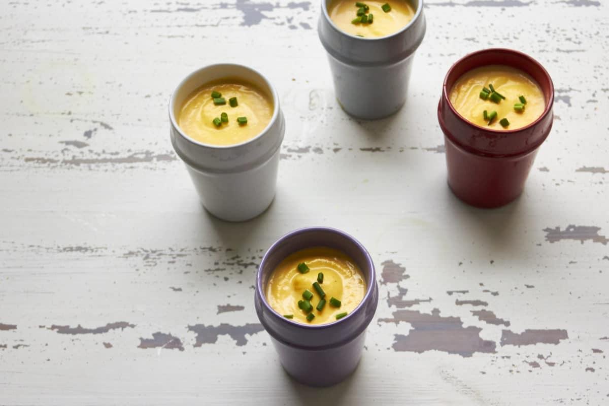 Butternut Squash and Fennel Soup / Mia / Katie Workman / themom100.com