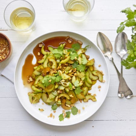Thai Cucumber Salad / Mia / Katie Workman / themom100.com