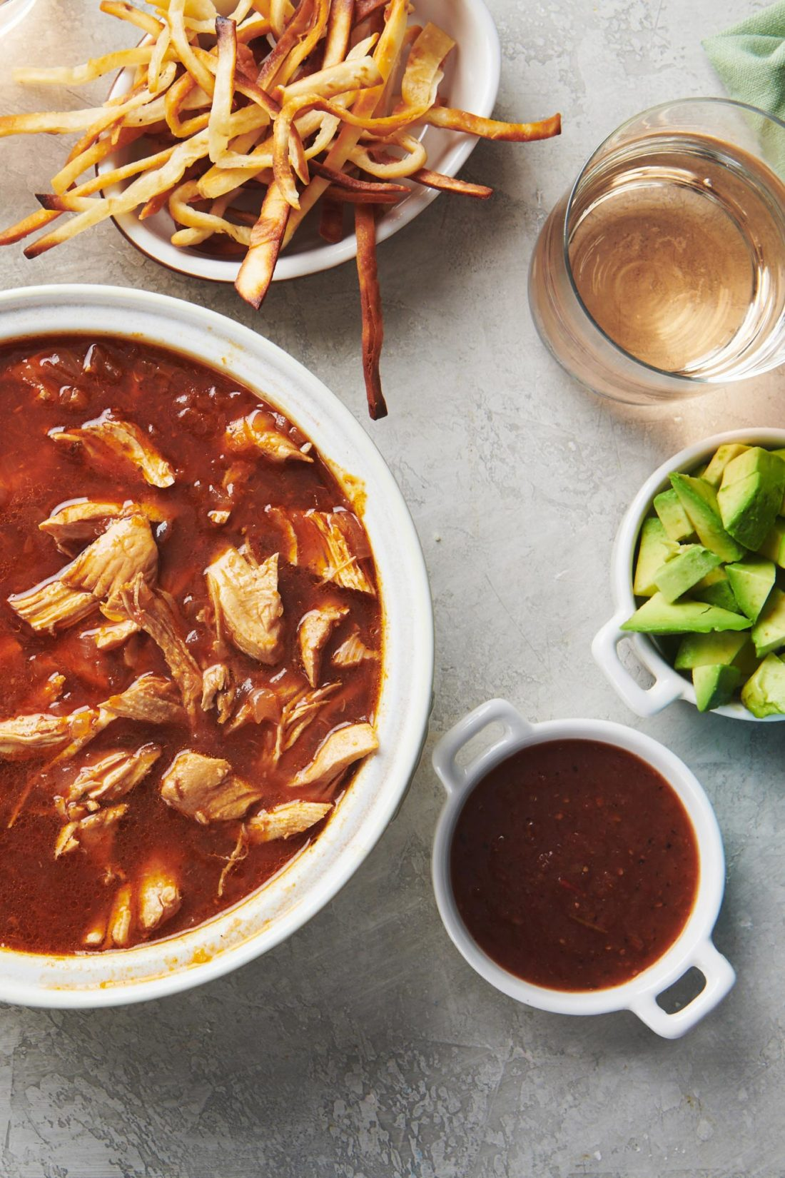 Mexican Tortilla Chicken Soup