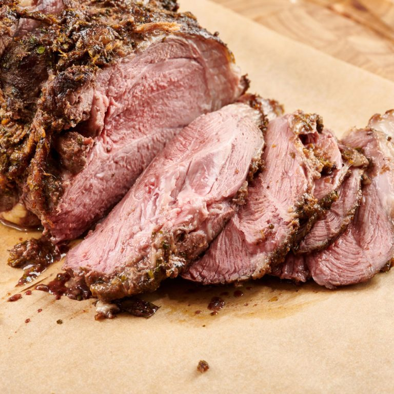 Slow Cooked Moroccan Leg of Lamb
