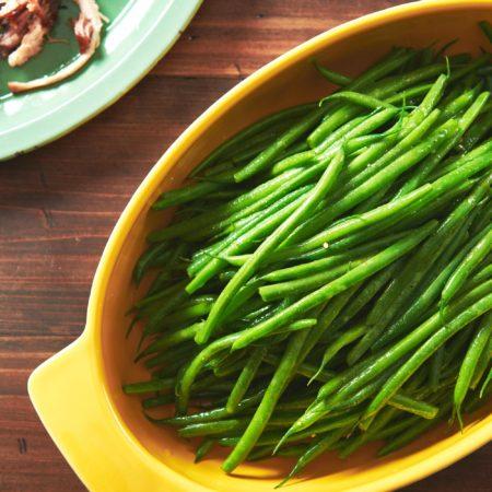 Honey Mustard Green Beans