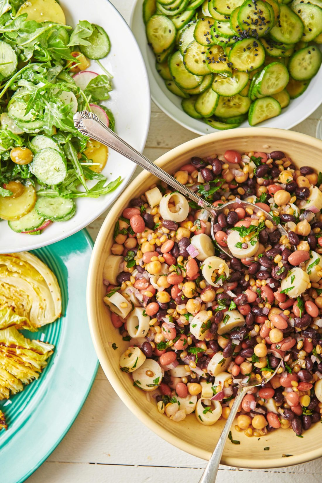 Modern Three Bean Salad