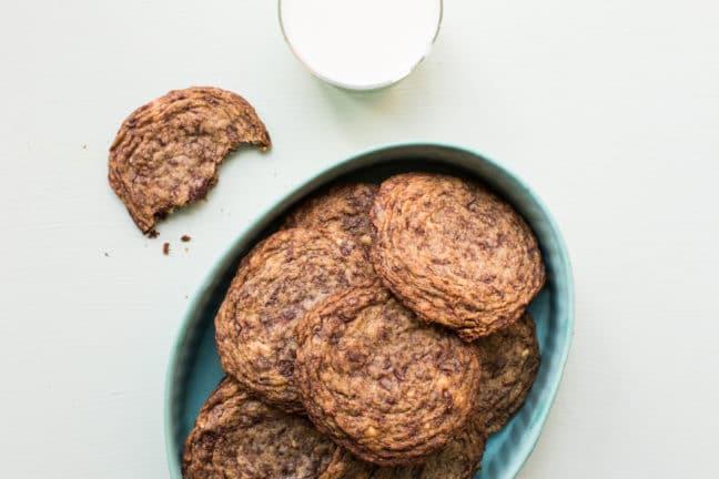 Fractaled Chocolate Chunk Cookies / Sarah Crowder / Katie Workman / themom100.com