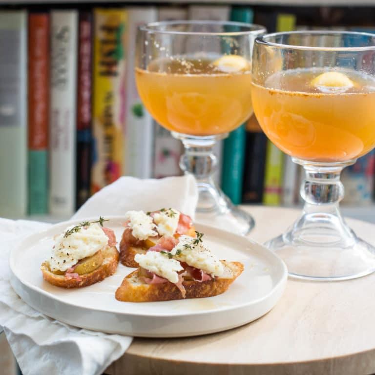 The Felix Hot Ginger Apple Toddy / Sarah Crowder / Katie Workman / themom100.com