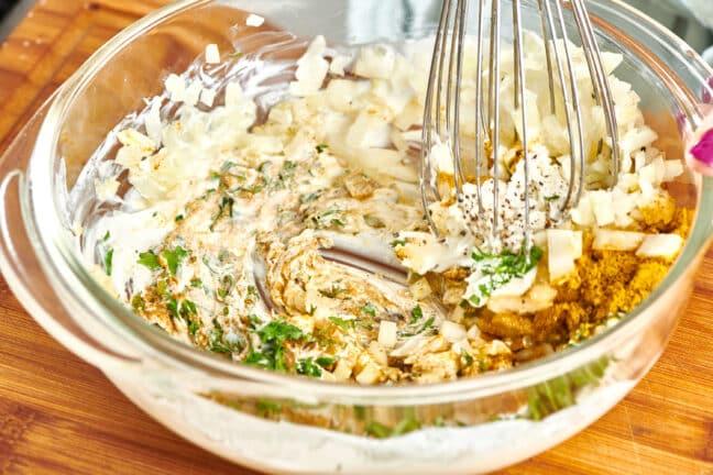 Indian Curry Yogurt Marinade