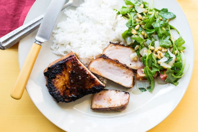 Korean Pork Chops / Sarah Crowder / Katie Workman / themom100.com