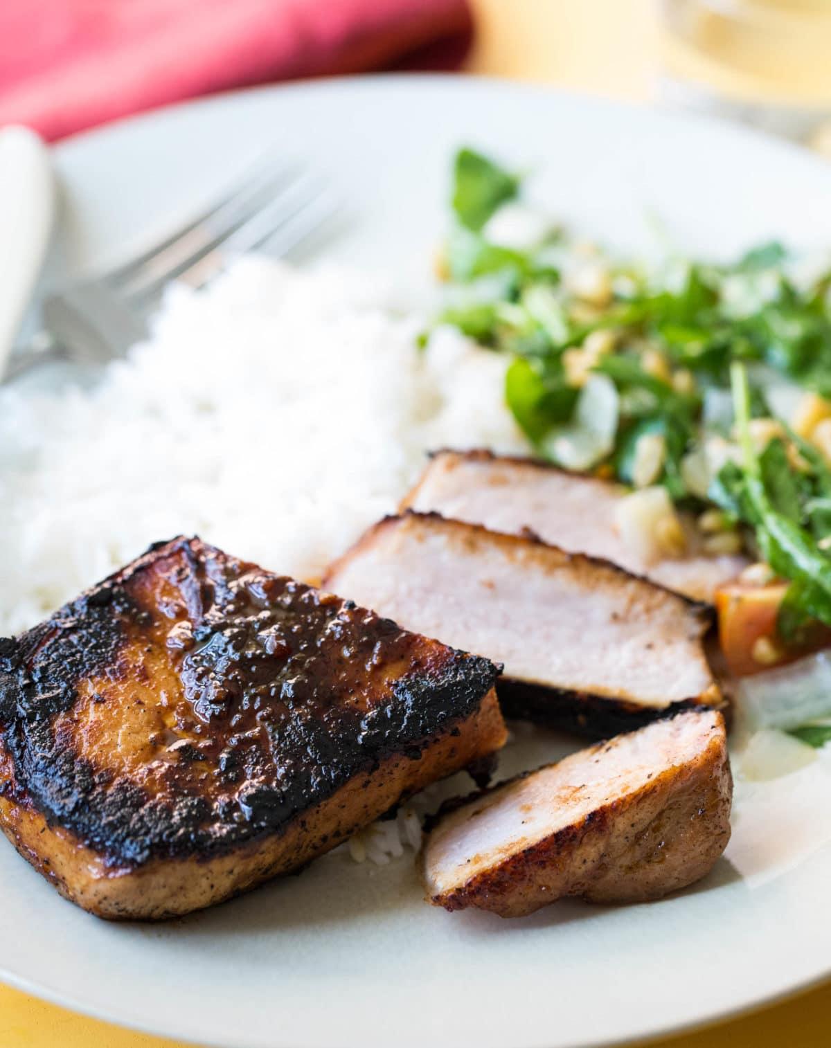 Korean Pork Chops / Sarah Crowder / Katie Workman / themom100.com