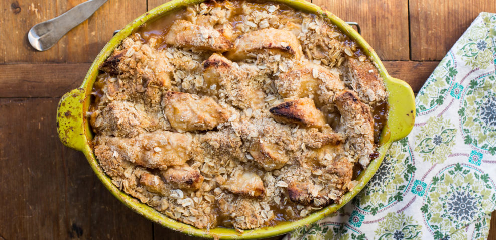 Another Apple Crisp / Sarah Crowder / Katie Workman / themom100.com