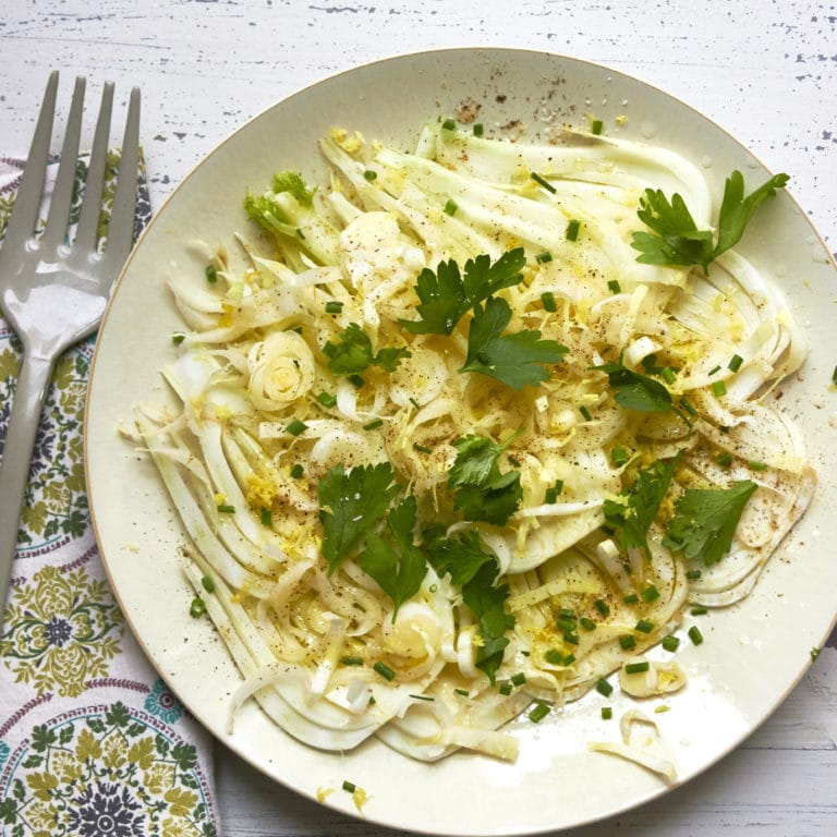Fennel and Endive Salad / Mia / Katie Workman / themom100.com
