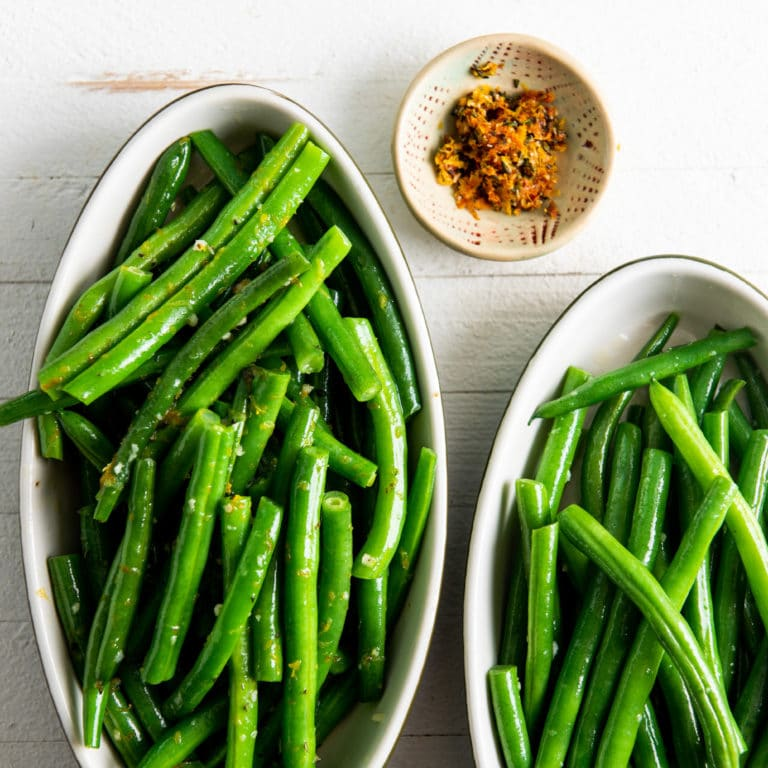 Green Beans Two Ways The Mom 100